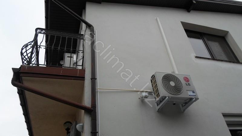 Lg кондиционер установка кондиционеры panasonic внутренний блок